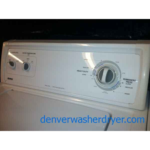 Amazing Kenmore Washer Dryer Set 899 Denver Washer Dryer