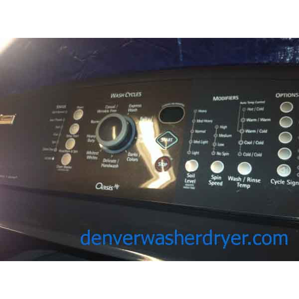 Kenmore Dishwasher Reviews >> Kenmore Elite Oasis Washer/Dryer Set, HE, Energy Star - #911 - Denver Washer Dryer