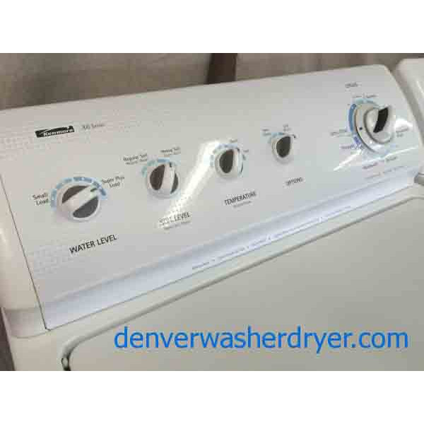 Kenmore 700 Washer 600 Dryer Full Featured Direct Drive