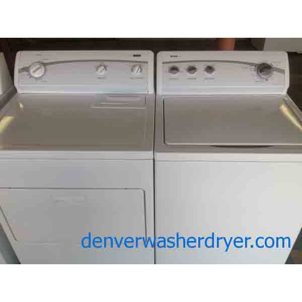 Kenmore 500 Series Washer 600 Series Dryer Recent Nice