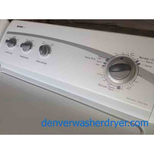 Kenmore 600 Series Manual Washer