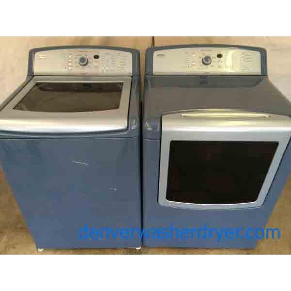 Kenmore Elite Oasis Washer Dryer Set Canyon Capacity