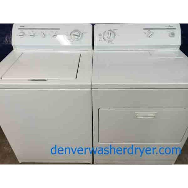 Kenmore 80 Series Washer/Dryer Set, Super Capacity Plus