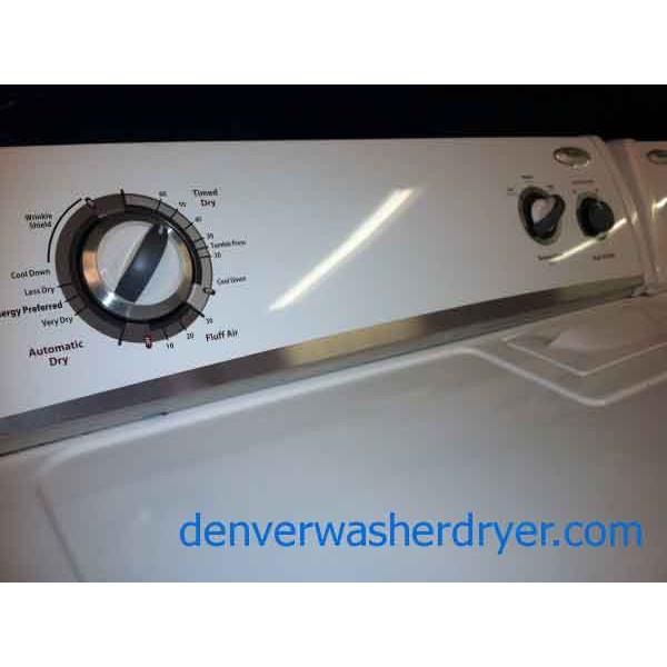 Newer Whirlpool Washer And Dryer 831 Denver Washer Dryer