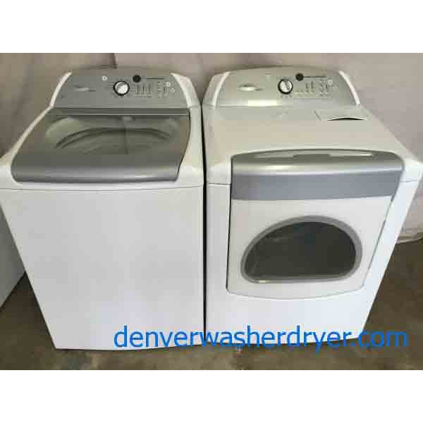 High Efficiency Whirlpool Cabrio Washer Dryer Matching Set