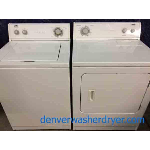 Heavy Duty Super Capacity Washer Dryer Set 2462