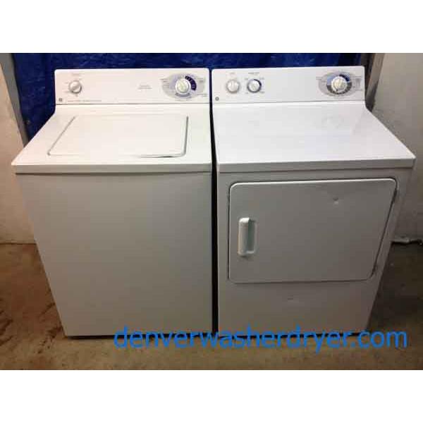 Great Deal Ge Washer Dryer Matching Set 618 Denver