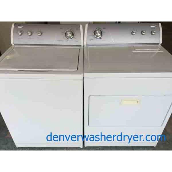 Whirlpool Ultimate Care Ii Washer Gas Dryer Set