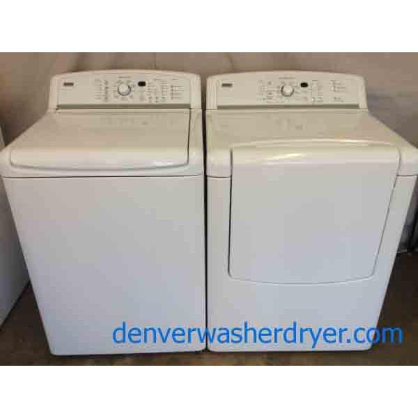 He Agitator Less Kenmore Elite Oasis Washer Dryer Set