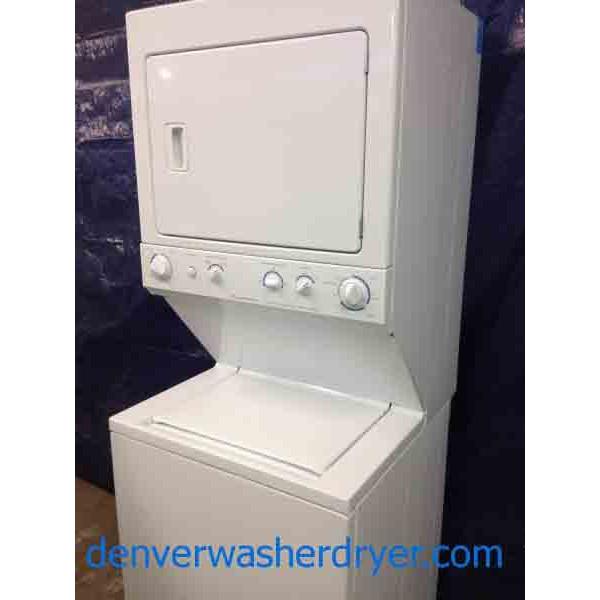 Frigidaire Stack Washer Dryer 27 Inch Pristine Condition
