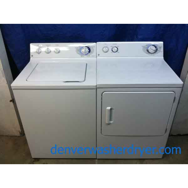 Super-Sweet GE Washer/Dryer Set