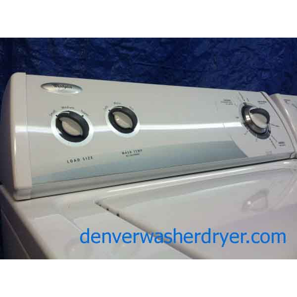 Rock Solid Whirlpool Washer/Dryer Set