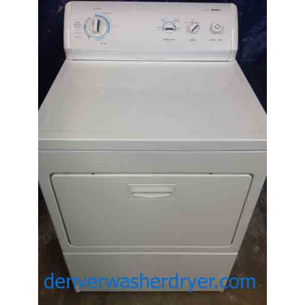 Kenmore 700 Series Dryer King Size Capacity 1472 Denver