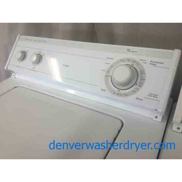 Discount whirlpool washer dryer matching set 2122 - Whirlpool discount ...