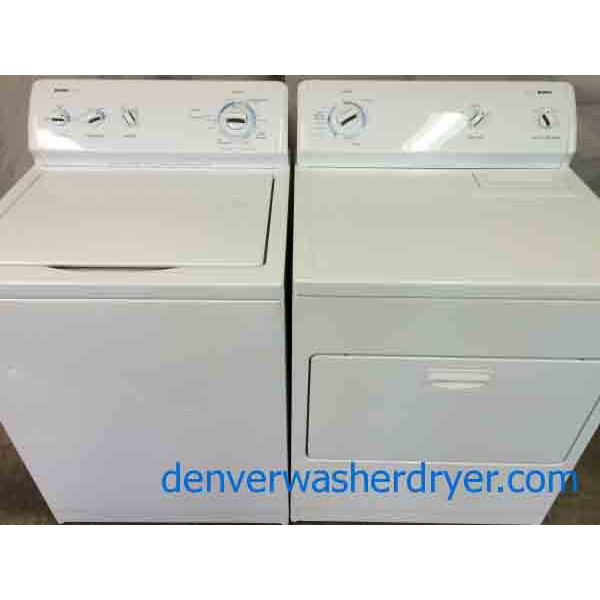 Kenmore 600 Series Washer Dryer Set Superb Condition