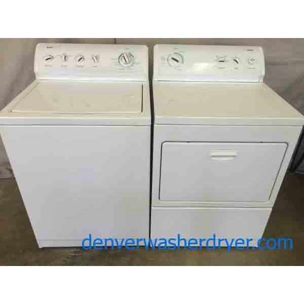 Fully Featured Kenmore 700 Series Washer Gas Dryer