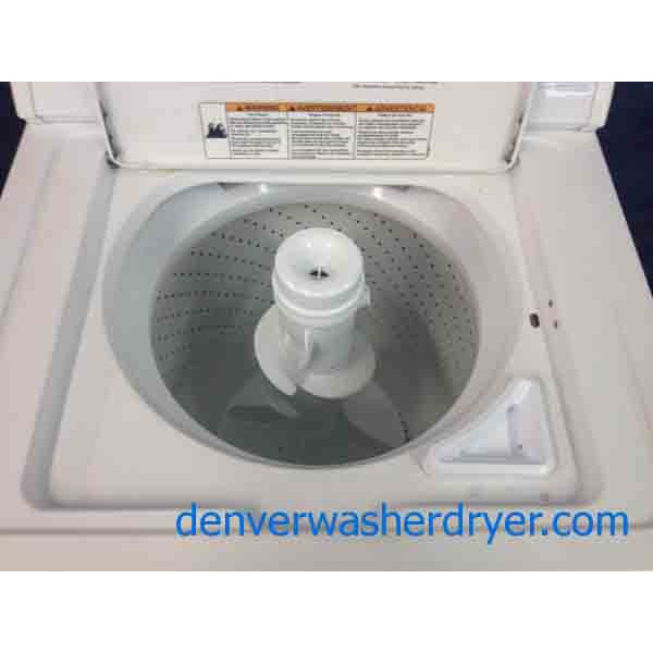 Whirlpool Apartment Size Washer And Dryer: Whirlpool Direct Drive Washer, Super Capacity