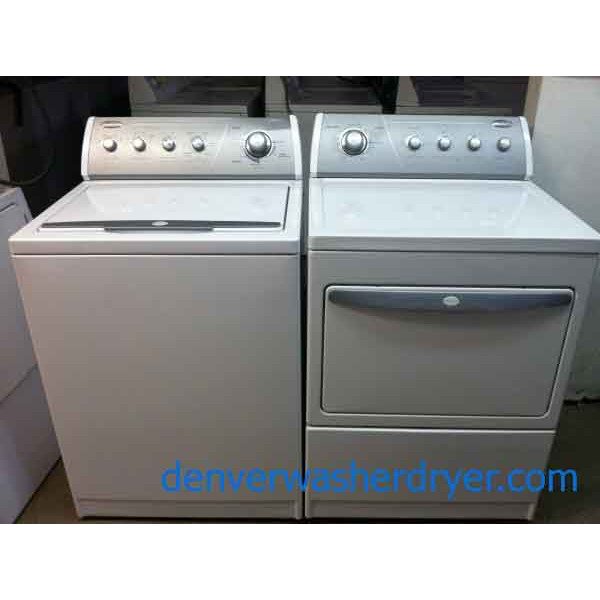 Whirlpool Gold Washer And Dryer Set 764 Denver Washer
