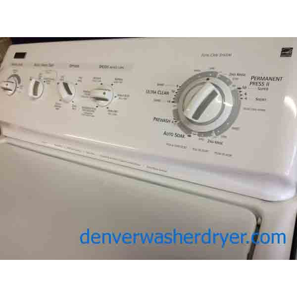 Kenmore Elite Washer Dryer Set Energy Star 1750
