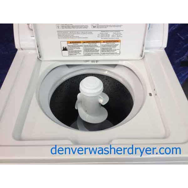 Whirlpool Apartment Size Washer And Dryer: Whirlpool Washer, Extra Large Capacity