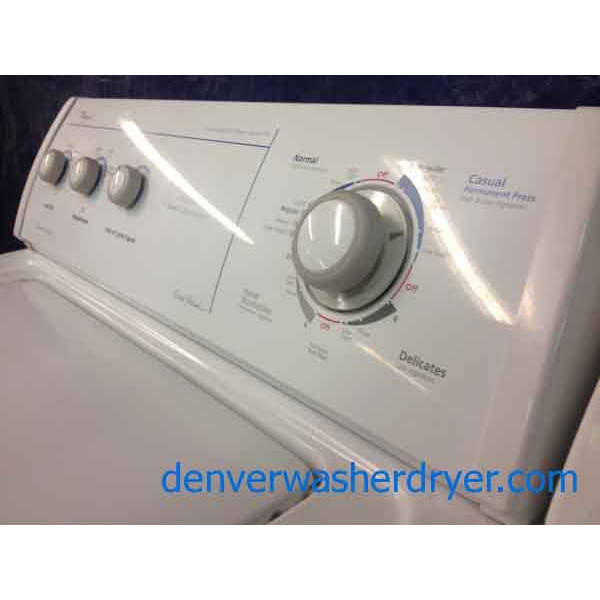 Whirlpool Ultimate Care Ii Washer Dryer Set Gas 1158