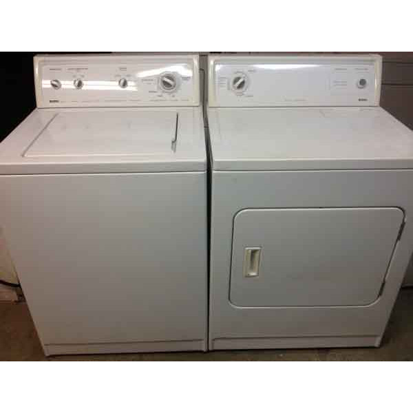 Reliable Kenmore 80 Series Washer/Heavy Duty Dryer