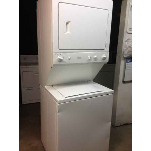 Newer Ge Stack Washer Dryer Full Size 27 Inch 388