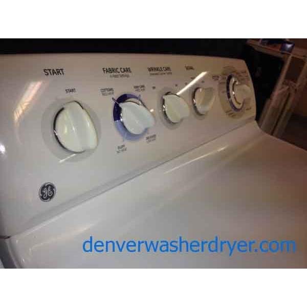 Ge Appliance Warranty >> Newer GE Washer/Dryer, Matching Set - #1173 - Denver Washer Dryer