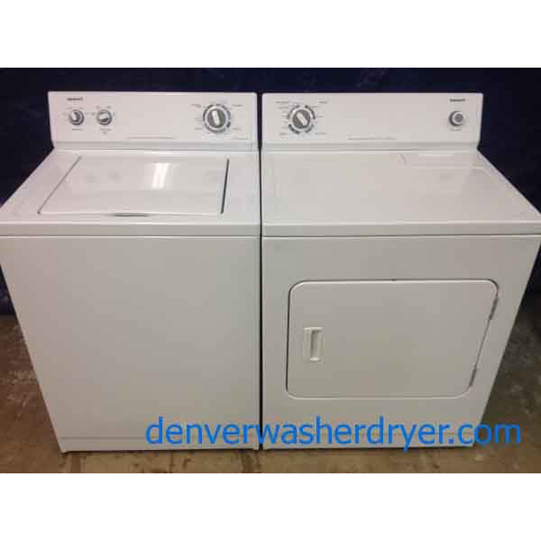 Admiral Washer Dryer Almost New Lightly Used Super