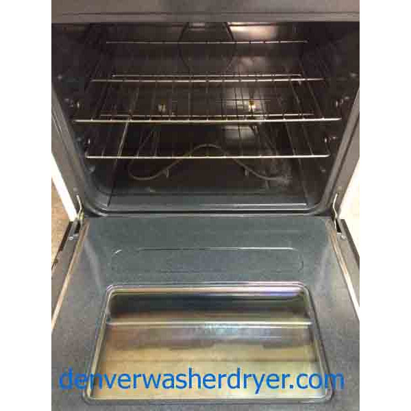 Tappan Stove By Frigidaire Self Clean See Through Door