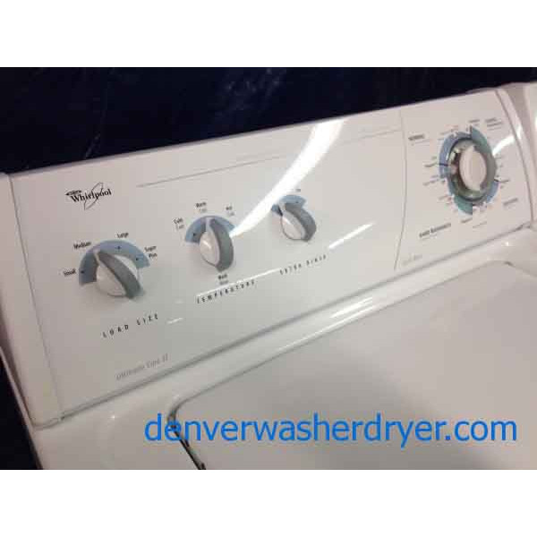 Whirlpool Washer Dryer Recent Models Ultimate Care Ii