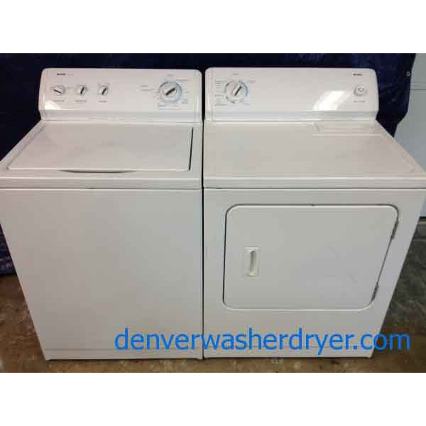 Kenmore 600 Series Washer 400 Series Dryer 1193