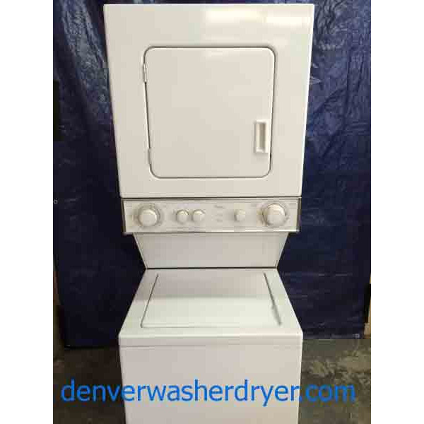 Whirlpool Stack Washer Dryer 24 Inch Thin Twin