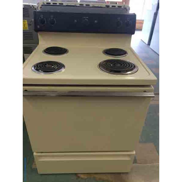 30 Quot Electric Stove Older Ge 2295 Denver Washer Dryer