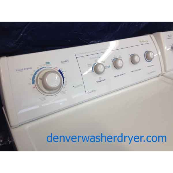Whirlpool Ultimate Care Ii Washer Dryer Gold Dryer