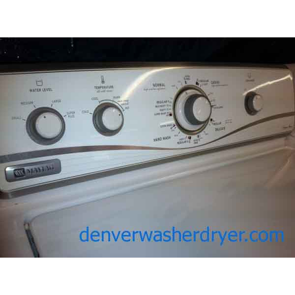 Maytag Legacy Series Washer Dryer Set Newer 1089