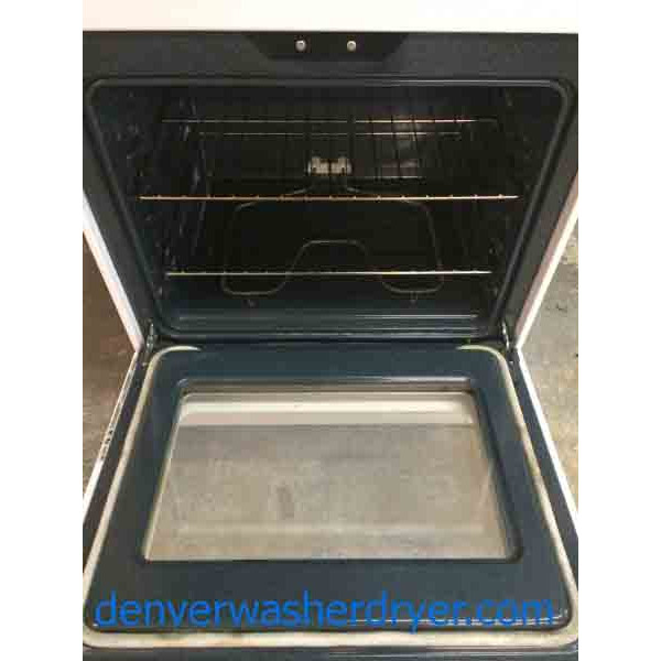 Ge Glass Top Stove Self Cleaning Great Condition