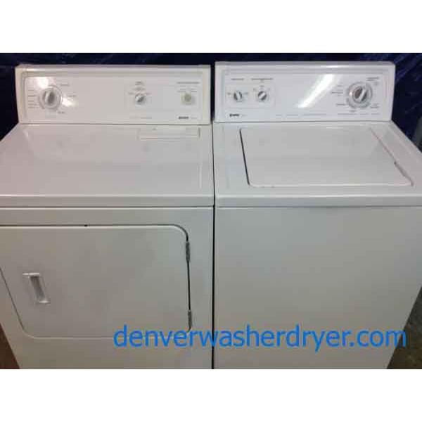Kenmore 70 Series Washer Dryer Super Capacity Plus