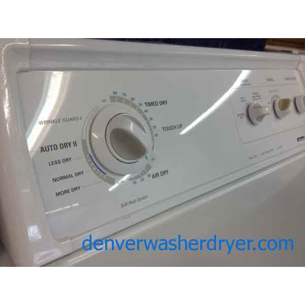 High End Kenmore 90 Series Washer Dryer Matching Set