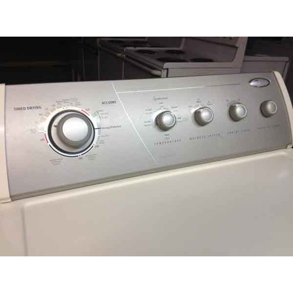 whirlpool gold ultimate care ii washer/dryer - #343 - denver washer