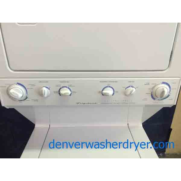 Frigidaire Stack Washer Dryer Set Super Capacity Heavy