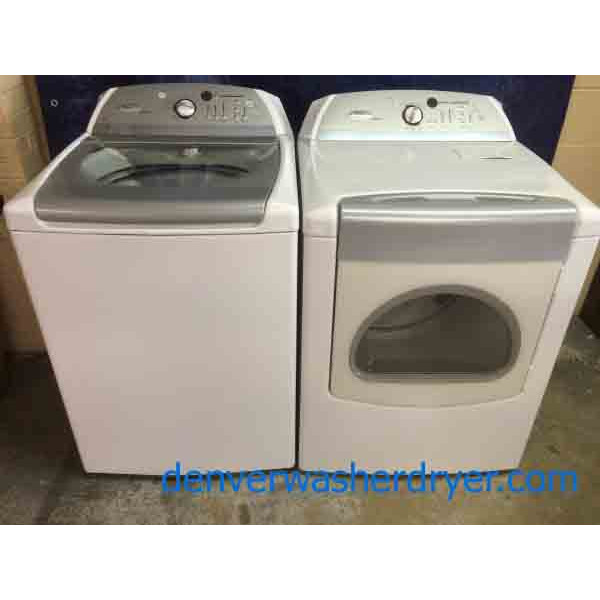 Whirlpool Cabrio Washer/Dryer Set, Super Awesome