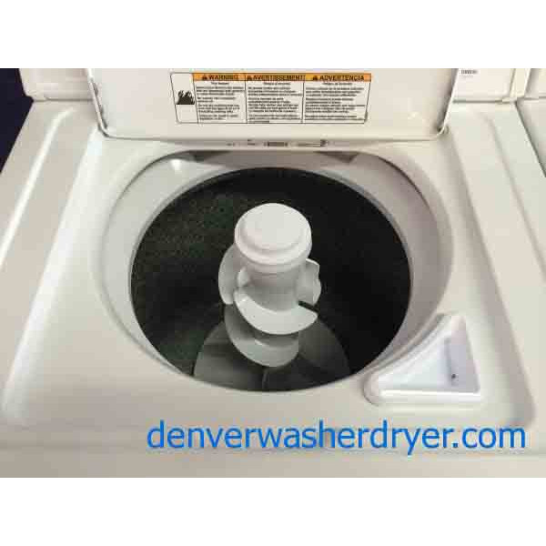 Whirlpool Washer Dryer Set Super Capacity Direct Drive