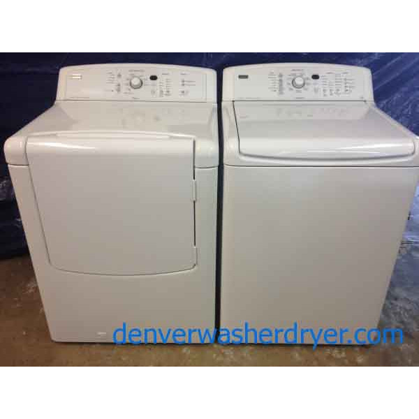 kenmore elite oasis washer and dryer. like-new kenmore elite oasis washer/**gas** dryer set, washer and n