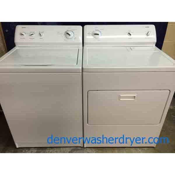 Kenmore 600 Washer Dryer Set Recent Models Super Nice