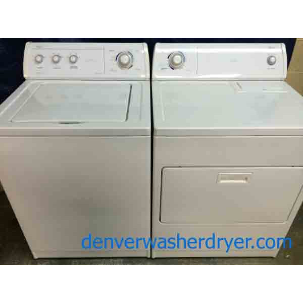 Whirlpool Apartment Size Washer And Dryer: Whirlpool Commercial Quality Washer/Dryer Set, Super