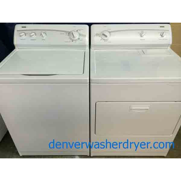 Kenmore 600 Series Washer Dryer Set Very Nice 1663