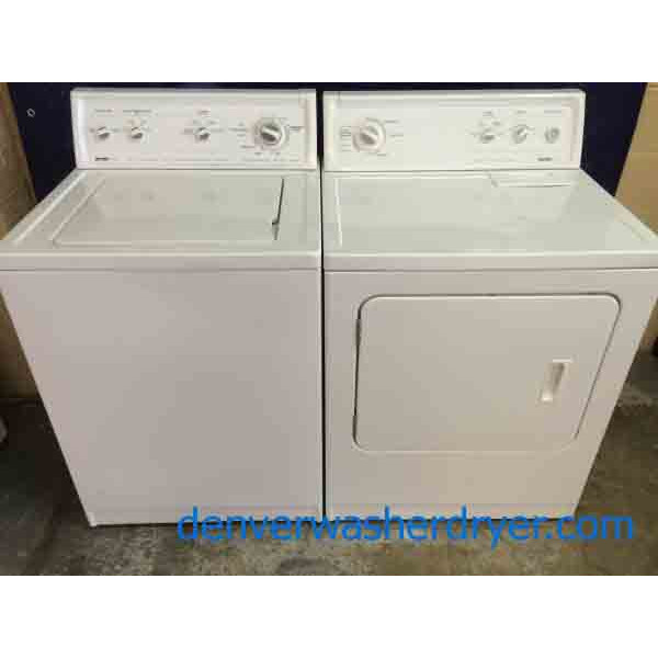 Reliable Kenmore 80 Series Washer Dryer Amazing Price