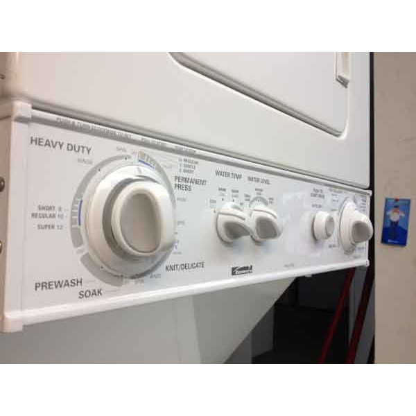 """Whirlpool Apartment Size Washer And Dryer: 24"""" Apartment Sized Kenmore Washer/Dryer Stacker"""