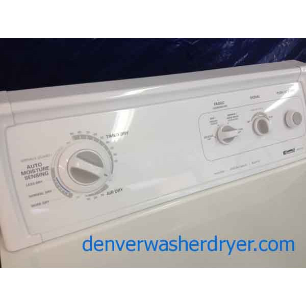 Kenmore 80 Series Washer/**GAS** Dryer